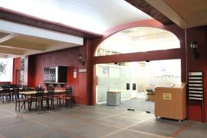 Vista de la biblioteca de la Universidad Panamericana, Campus México.