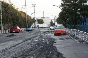 Uno de los efectos del terremoto fue la licuefacción del suelo. (Foto: Morio, commons.wikimedia.org)