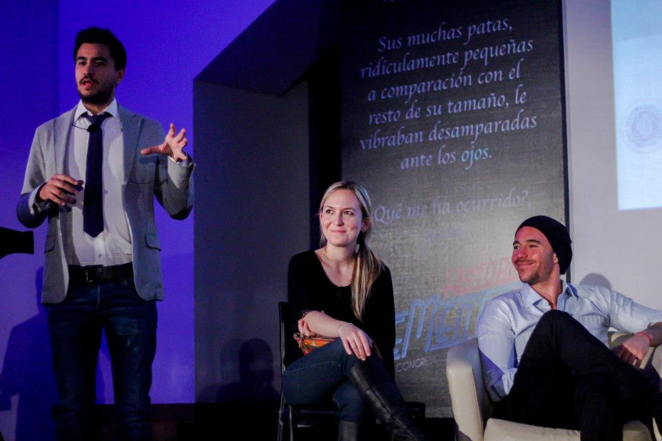 Tadizu Arriola nos habla de la campaña mercadológica de Nosotros los Nobles. Crédito: César Jasso