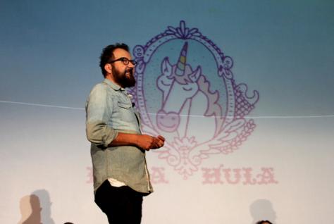 Cha presentó los múltiples proyectos que ha realizado con la agencia Hula Hula / FotoUP