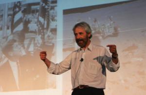 Sergio López invitó a los presentes a los presentes a no tener miedo al fracaso / FotoUP.