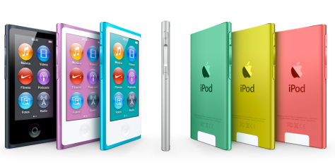 iPod Nano / Imagen: www.apple.com