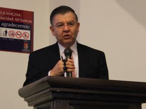 Dr. José Luis Ortiz Garza, director de la Escuela de Comunicación / Foto: César Jasso