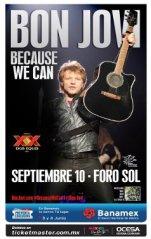 Compra tus boletos para este 10 de septiembre. Crédito: OCESA