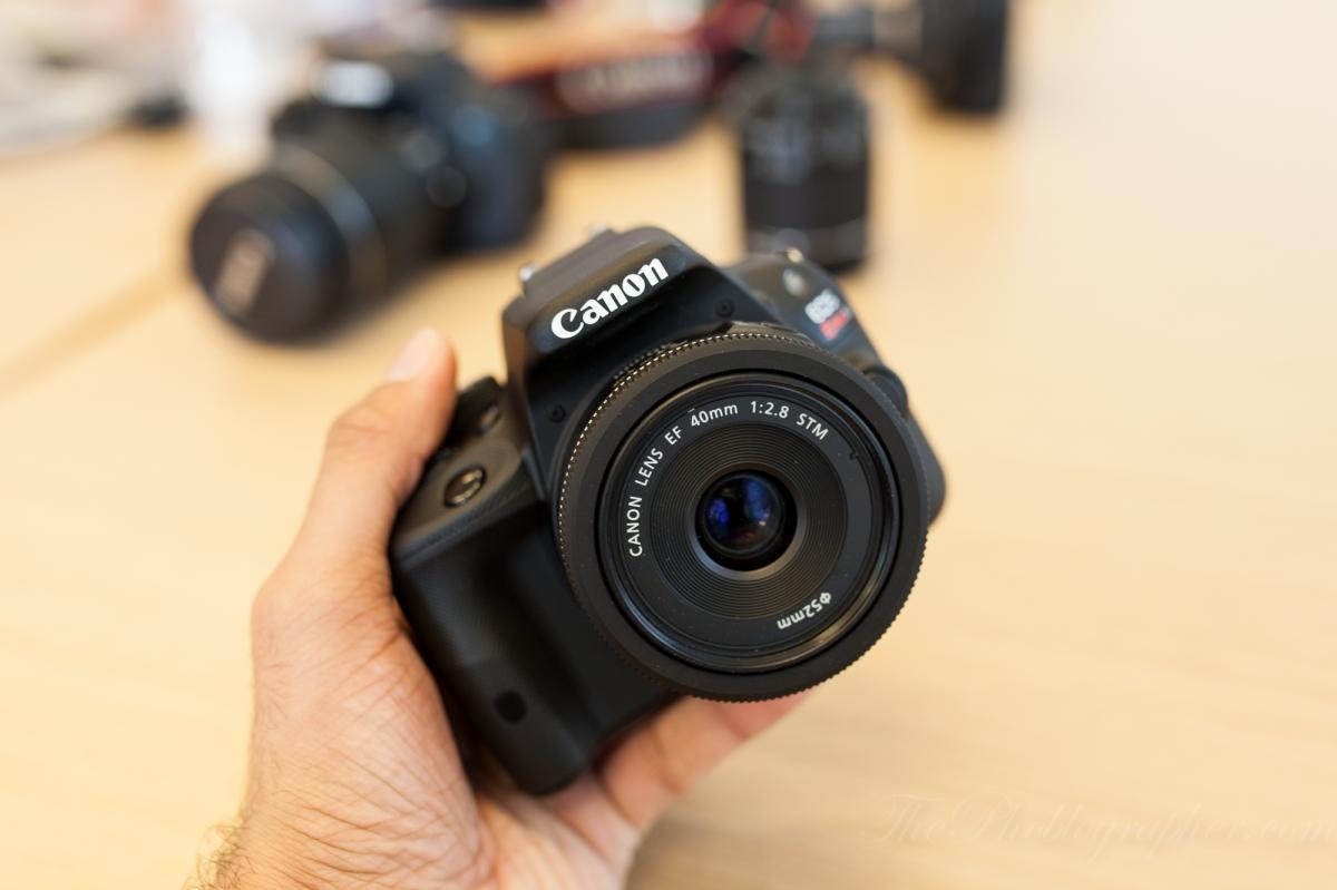 Canon SL1, chiquita pero picosa