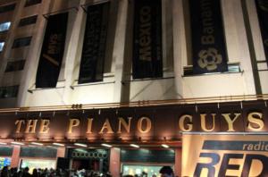 The Piano Guys en el Teatro Metropólitan / Foto: Paola Ortiz