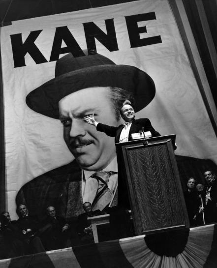 """""""Ciudadano Kane"""", de Orson Welles, es considerada como un parteaguas en la historia del cine. Crédito: El día."""