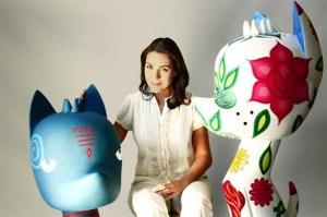 Cristina Pineda y Xico / Foto: estilos.msn.com