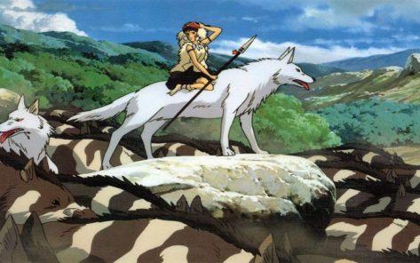 La princesa Mononoke / www.fondospedia.com