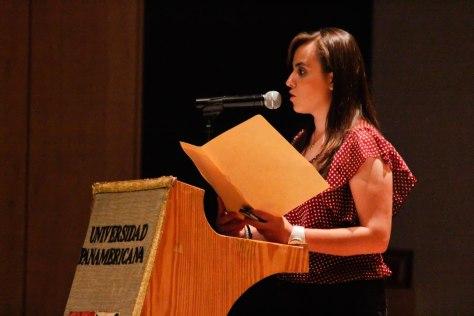 Rocío Camarena, miembro de RadioUP / Foto: César Jasso