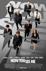 "Póster oficial de ""Now You See Me"" / Imagen: Impawards"