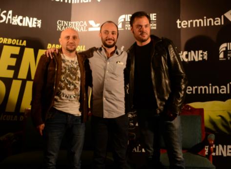 De izquierda a derecha: Darío Ripoll, Alfonso Borbolla y Miguel Bonilla. Por Fernanda Enríquez.