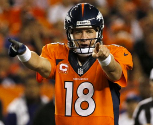 Peyton Manning impuso un récord de la NFL lanzando siete pases de anotación en un partido en el triunfo de los Broncos 49 a 27 sobre los Ravens en la semana uno de la temporada 2013 (AP-NFL)