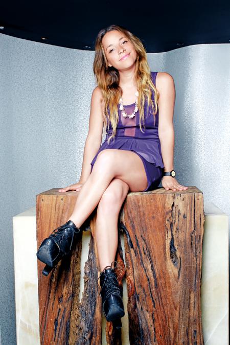 Paola Wong. Crédito: fashionweek.mx