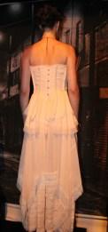 Los corsés evocaban a la elegancia de las grandes señoras durante las fiestas / Foto: Michelle López