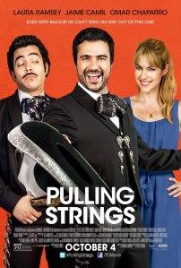 Póster oficial Amor a primera visa / Crédito: Pulling Strings Facebook