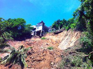 Deslave en la carretera Pie de la Cuesta, Septiembre 2013 / commons.wikimedia.org