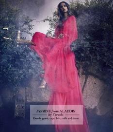 Jasmine por Escada / Foto: Jason Ell para Harrods