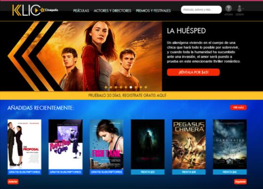 Klic vs. Netflix: La batalla de los servicios streaming.
