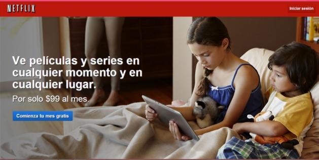 Netflix es el competidor más fuerte de Klic. /Crédito: netflix.com