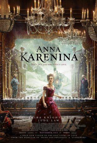 """Poster oficial de """"Anna Karenina"""". /Crédito: IMDB."""