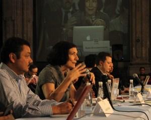 La periodista Alma Guillermoprieto llamó a realizar periodismo profundo y con valentía / Crédito: Michelle López