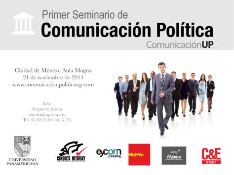 El seminario será en el Aula Magna de la UP