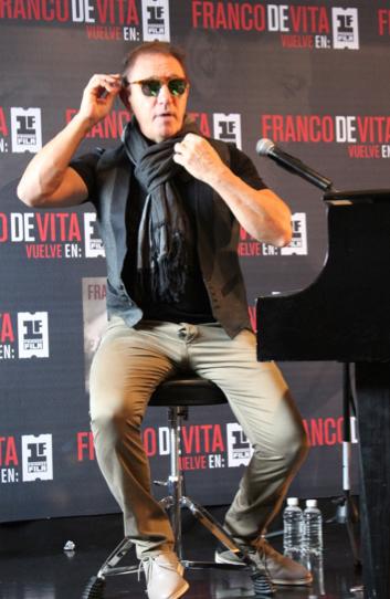 El músico se presentará en la Arena ciudad de México el próximo 31 de enero de 2014 / Foto: Paola Ortiz