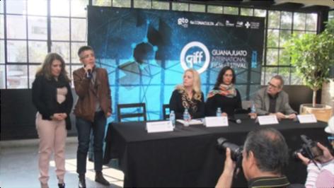 Durante la rueda de prensa se informó que el GIFF visitará los festivales de Sundance, Rotterdam, Clermont Ferrand y Berlín para promover su convocatoria a nivel internacional. Crédito: GIFF.