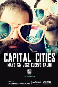 Capital Cities se presentará en Coachella 2014 / Imagen: www.ocesa.com.mx