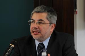 """""""La verdad no pertenece a los profesionales de la Comunicación"""", afirmó Huerta Vilchis / Crédito: Arturo Rosetti"""