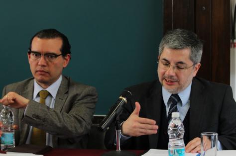 (De izquierda a derecha) Gilberto Bañuelos y Fernando Huerta / Crédito: Arturo Rosetti