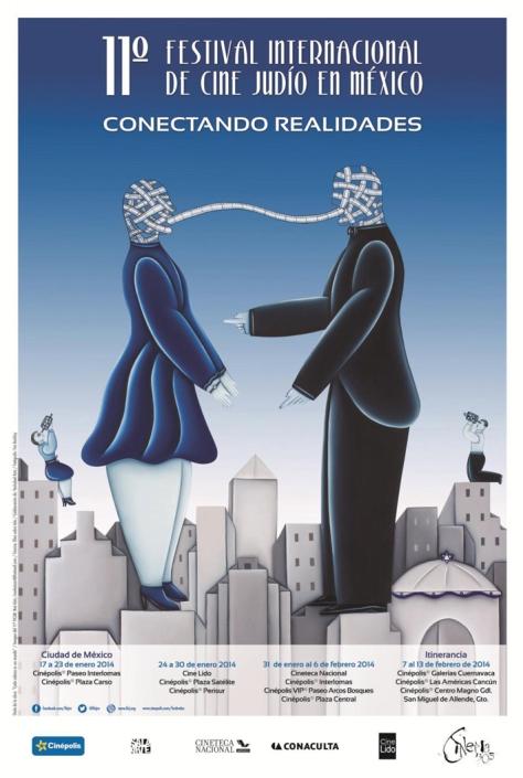El Festival Internacional de Cine Judío en México se llevará a cabo del 17 de enero al 13 de febrero de 2014. /Crédito: FICJM.