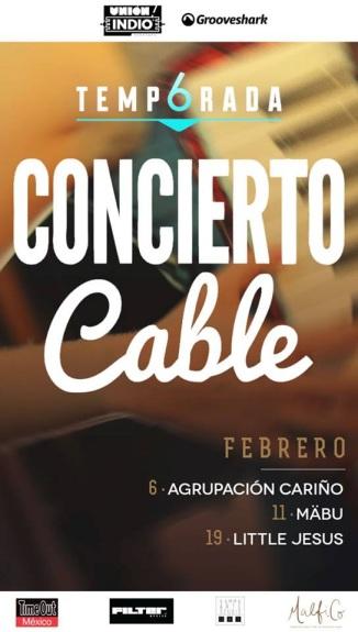 Cortesía: Concierto Cable
