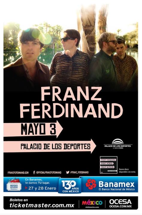 México se unirá a la lista de países que visita con su reciente álbum/ RockandRadio.com