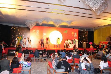 Bailarines animaron el evento/ Beto Marcelín