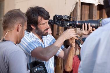 Ben Affleck en el set de Argo / Foto: www.facebook.com/benaffleck