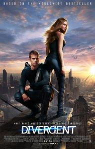 Póster oficial de Divergent / Crédito: divergentthemovie.com