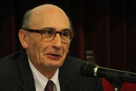 García Noblejas resaltó la labor de las mujeres en las series que analizó / Arturo Roseti