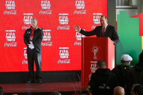Francisco Crespo, presidente de Coca-Cola. Crédito: cocacola.com.mx
