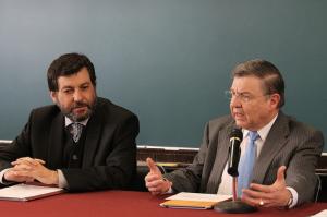 Izquierda a derecha: Íñigo Fernández y José Luis Ortiz / Foto: Arturo Roseti