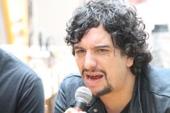 Chema Arreola (organizador de la carpa) / Arturo Roseti