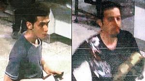 Pauria Nour Mohammadi y Delaver Seyed Mohhammad son los pasajeros que viajaban con pasaportes robados / Crédito: BBC