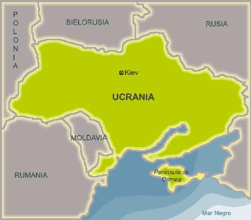 La península de Crimea forma parte de la región del sur-este que colinda con Rusia (Imagen: www.cubadebate.cu)