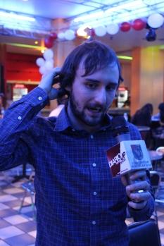 Juan Soto en entrevista / Foto: Igal Weintraub