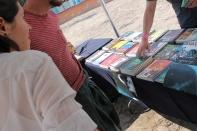 También se contó con un pequeño bazar de libros / J. Arturo Roseti