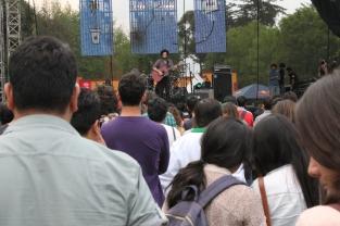 Destroyer reunió a mucha gente para disfrutar de su música / J. Arturo Roseti